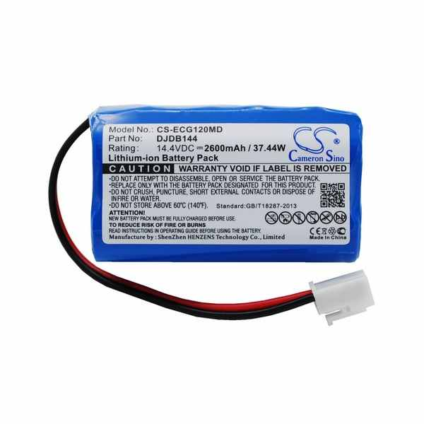 Replacement Battery Batteries For CMICS DJDB CS ECG120MD