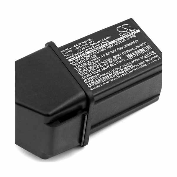Replacement Battery Batteries For ELCA GENIO M CS ECH007BL