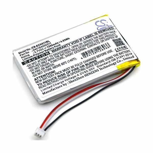 Replacement Battery Batteries For ELCA 0401BA000311 CS ECH311BL