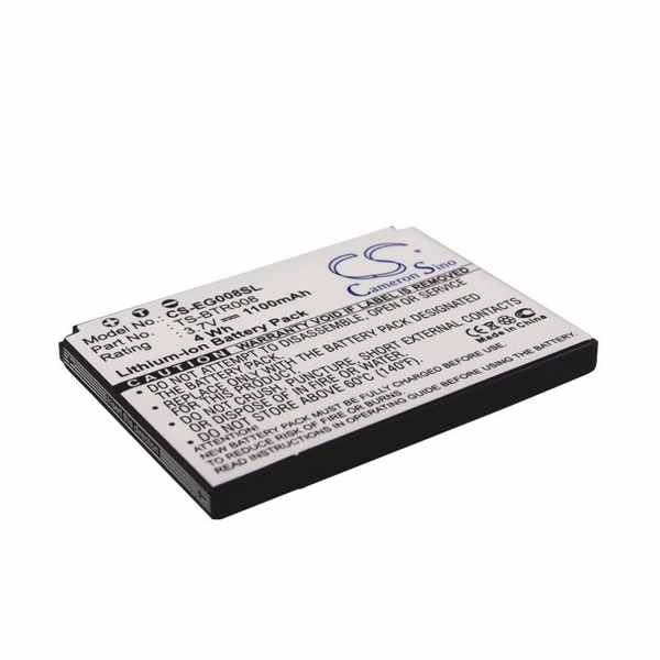 Replacement Battery Batteries For TOSHIBA T 01A CS EG008SL