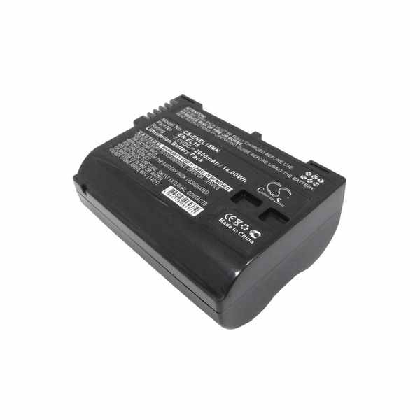 Replacement Battery Batteries For NIKON 1V1 CS ENEL15MH
