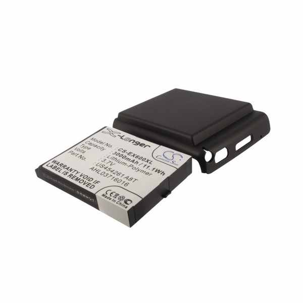 Replacement Battery Batteries For E TEN 369029665 CS EX600XL