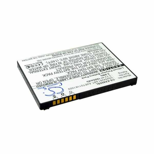 Replacement Battery Batteries For E TEN BT0010T002 CS EX800SL