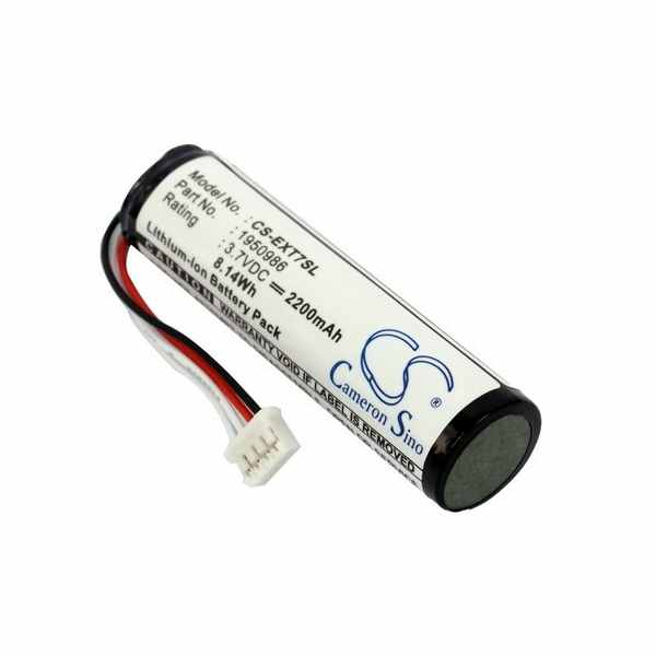 Replacement Battery Batteries For REED R2050 CS EXT7SL
