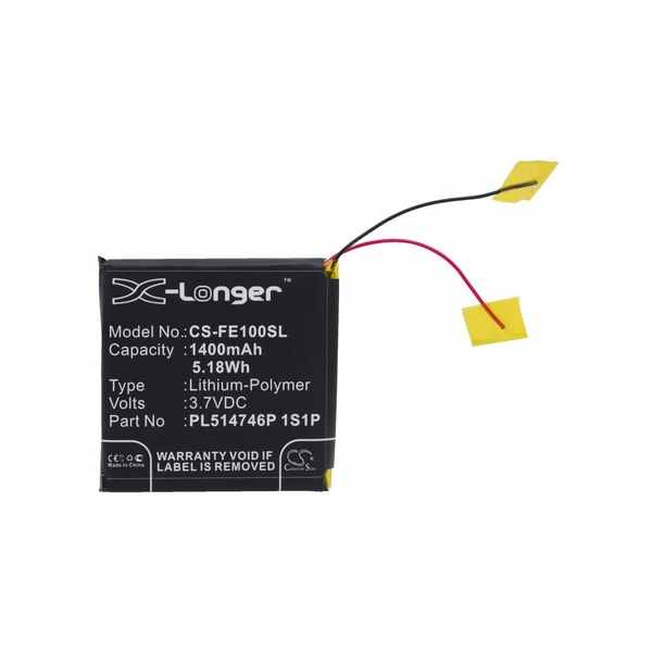 Replacement Battery For Fiio PL514746P 1S1P E10 E10K E11K