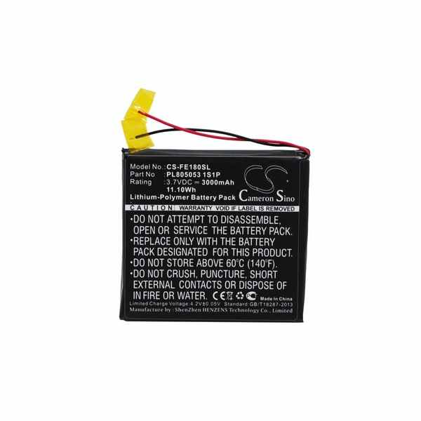 Replacement Battery For Fiio PL805053 1S1P E18