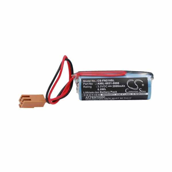 Replacement Battery For Gh A02B-0118-K111 A02B-0177-K106 A02B-0200-K106 Fanuc Cnc 16/18-B 21-B