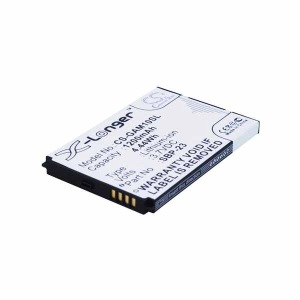 Replacement Battery Batteries For GARMIN ASUS Nuvifone A10 CS GAM10SL