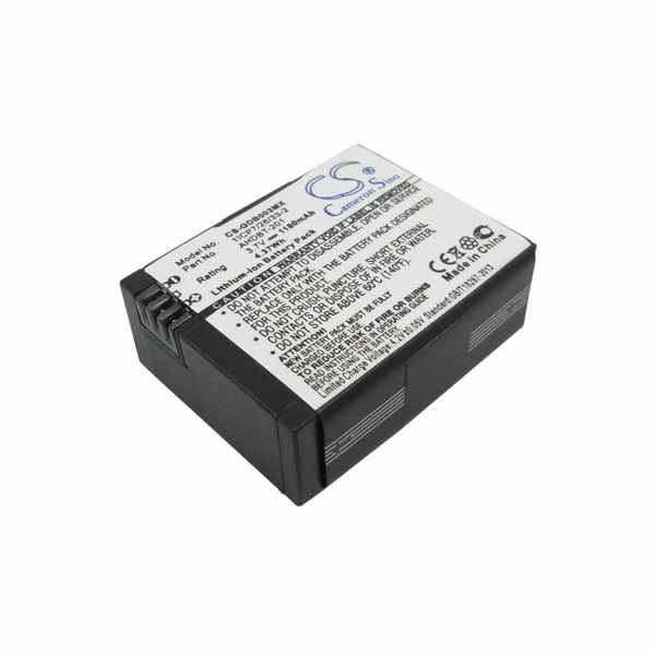 Replacement Battery Batteries For GOPRO CHDHB 101 CS GDB600MX