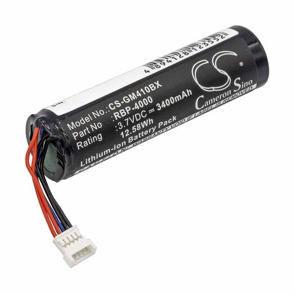 Replacement Battery Batteries For GRYPHON 128000894 CS GM410BX