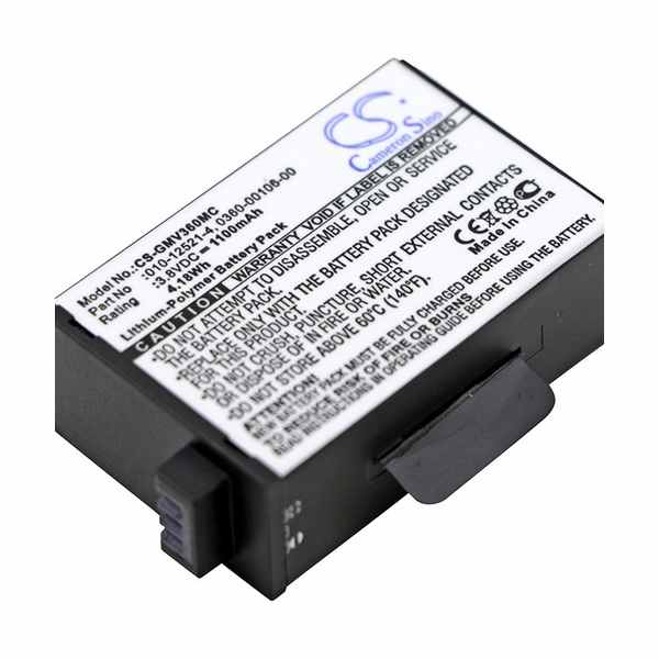 Replacement Battery Batteries For GARMIN 010 12521 40 CS GMV360MC