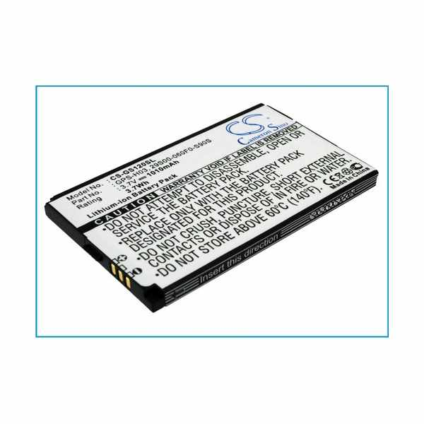 Replacement Battery Batteries For GSMART CG8SO0924001568 CS GS120SL
