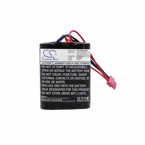 Replacement Battery For Panasonic HHR-250SCH L2x3 PA-A2786 R001-1B