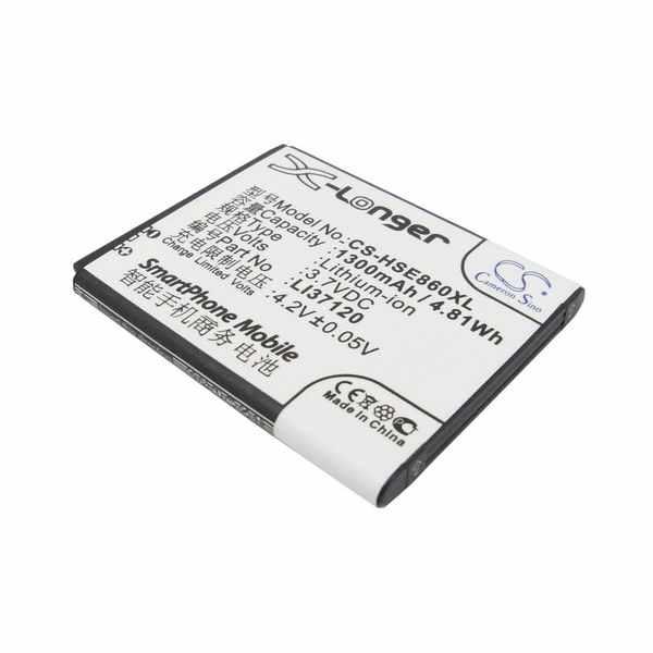 Replacement Battery Batteries For HISENSE E830 CS HSE860XL