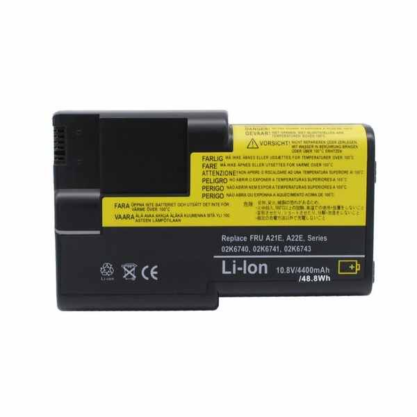 Replacement Battery Batteries For IBM 02K6739 CS IBA22E