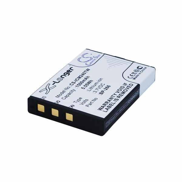 Replacement Battery For Icom BP-266 IC-M23 IC-M24