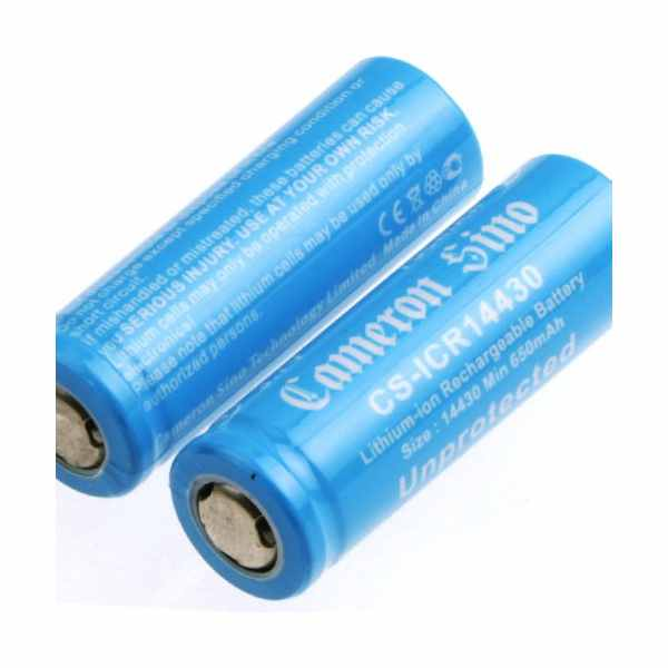 Replacement Battery Batteries For ICR14430 2pcs-pack CS ICR14430NE