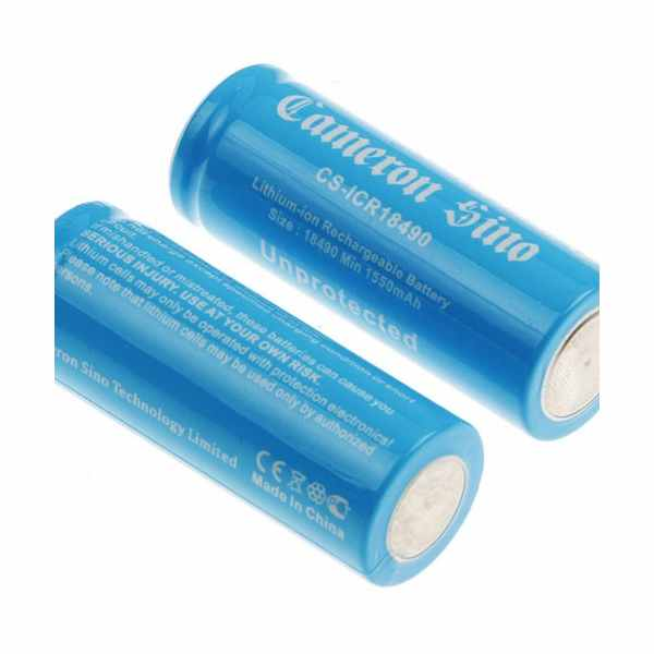 Replacement Battery Batteries For ICR18490 2pcs-pack CS ICR18490NE