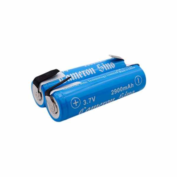 Replacement Battery Batteries For ICR18650 WITH TABS 2pcs-pack CS INR18650NF