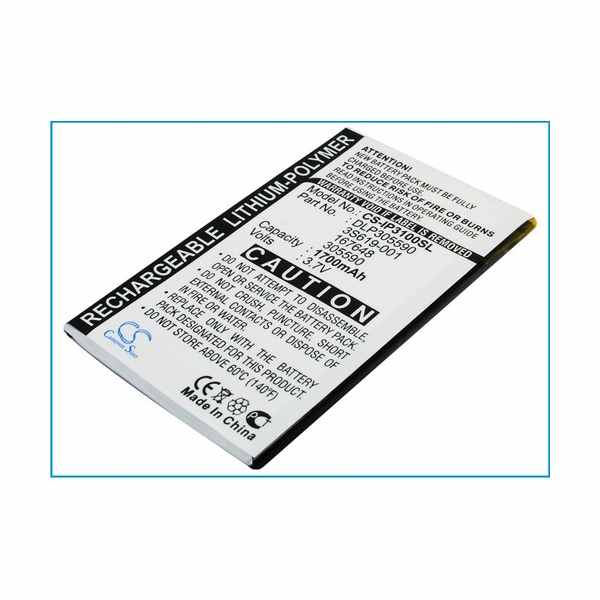 Replacement Battery Batteries For HP 167648 CS IP3100SL