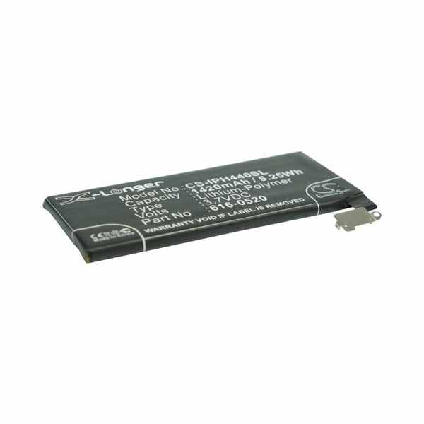 Replacement Battery Batteries For APPLE 616 0512 CS IPH440SL
