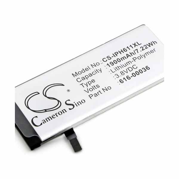 Replacement Battery Batteries For APPLE 616 00036 CS IPH611XL