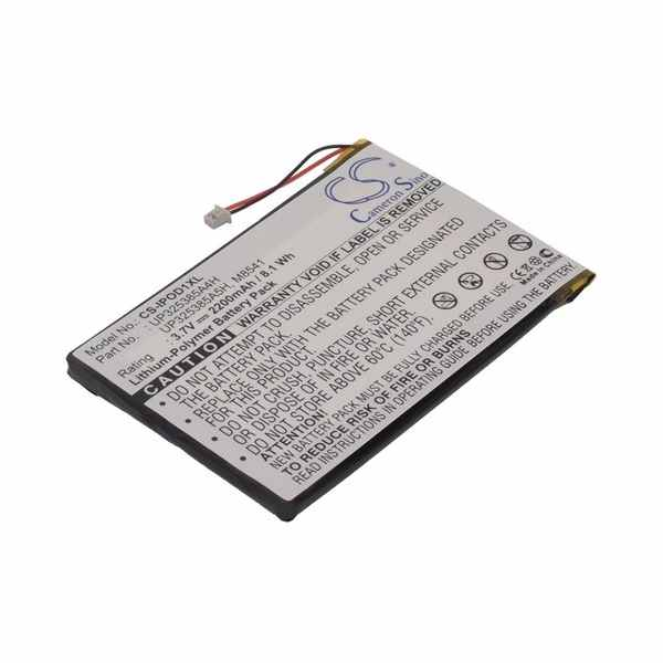 Replacement Battery Batteries For APPLE 2nd Generation CS IPOD1XL