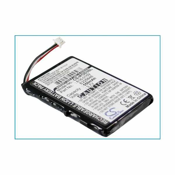 Replacement Battery Batteries For APPLE 616 0159 CS IPOD3SL