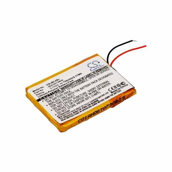 Replacement Battery Batteries For IRIVER 1LP4WHT CS IRL2SL