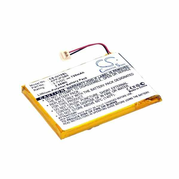 Replacement Battery Batteries For IRIVER CLIX2GB CS IU10SL