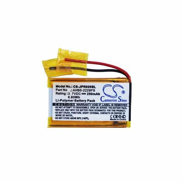 Replacement Battery Batteries For JABRA AHB5 2229PS CS JPR920SL