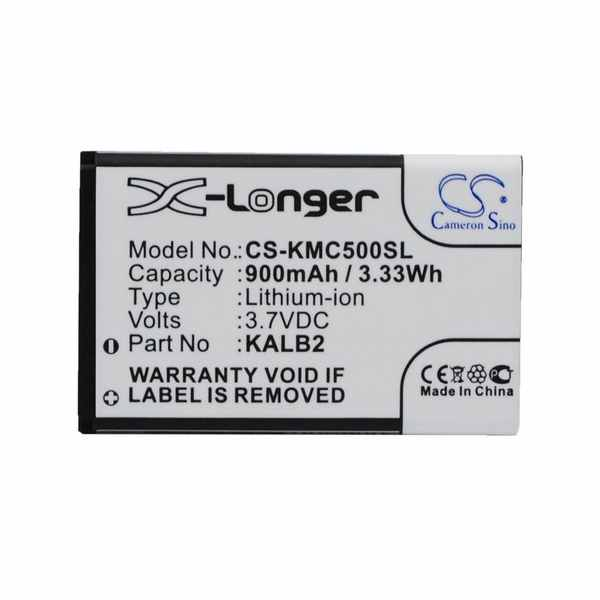 Replacement Battery Batteries For LBOOK V3+ CS KMC500SL