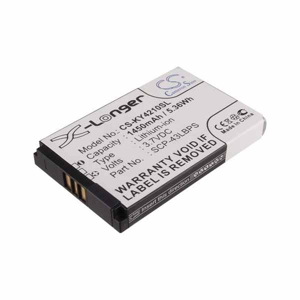 Replacement Battery Batteries For KYOCERA 5AAXBT048GEA CS KY4210SL