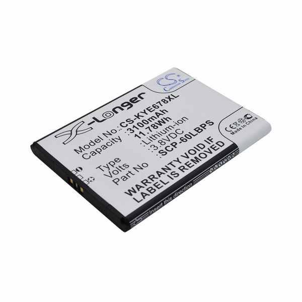 Replacement Battery Batteries For KYOCERA 5AAXBT076GEA CS KYE678XL