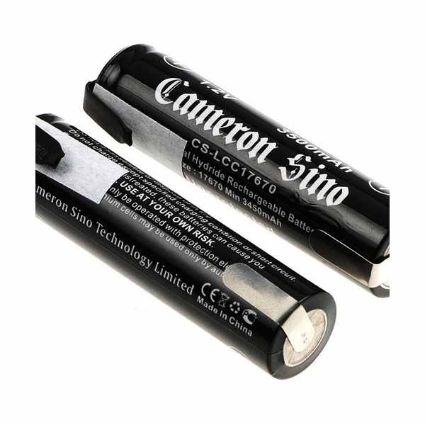 Replacement Battery Batteries For 17670 WITH SOLDER TABS 2pcs-pack CS LCC17670NT