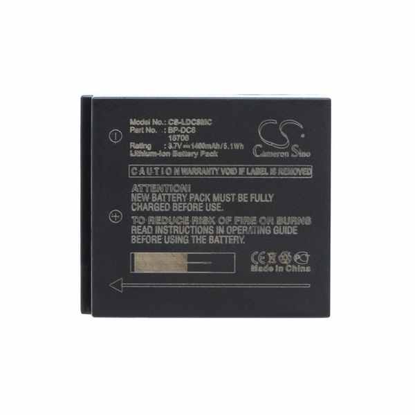 Replacement Battery Batteries For LEICA 18706 CS LDC8MC