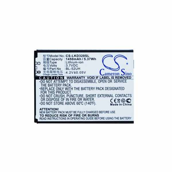 Replacement Battery Batteries For LG H420 CS LKD320SL