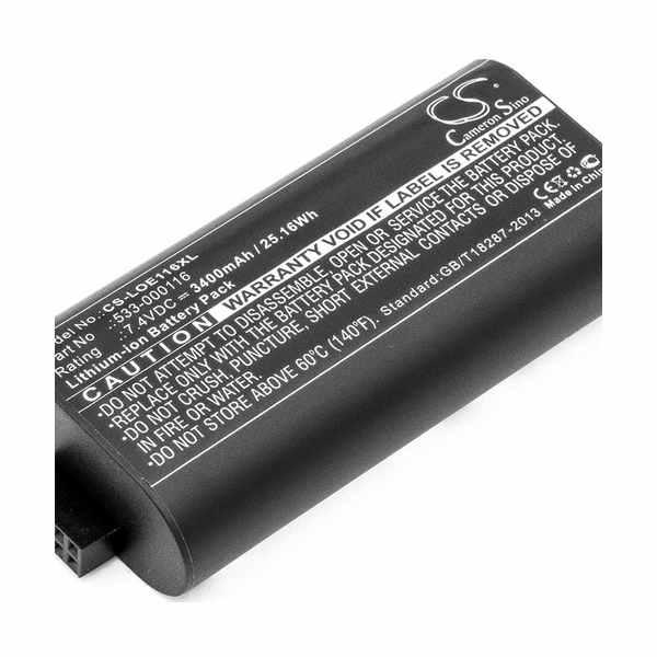Replacement Battery Batteries For LOGITECH 533 000116 CS LOE116XL