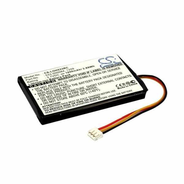 Replacement Battery Batteries For LOGITECH 1209 CS LOH533RC