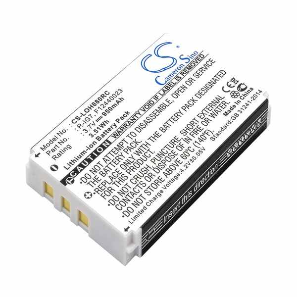 Replacement Battery Batteries For MONSTER AVL300 CS LOH880RC