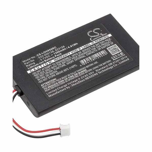 Replacement Battery Batteries For LOGITECH 533 000128 CS LOH950RC
