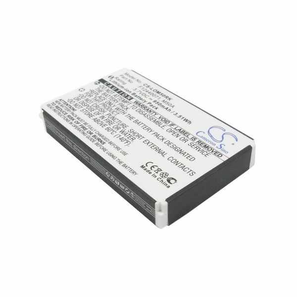 Replacement Battery Batteries For LOGITECH 190304 2004 CS LOM50RK