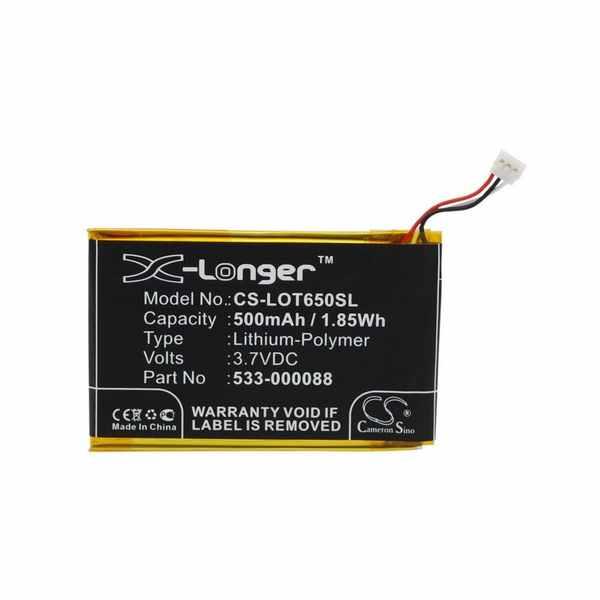 Replacement Battery Batteries For LOGITECH 533 000088 CS LOT650SL