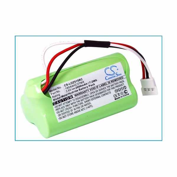 Replacement Battery Batteries For LOGITECH 180AAHC3TMX CS LOZ515RC