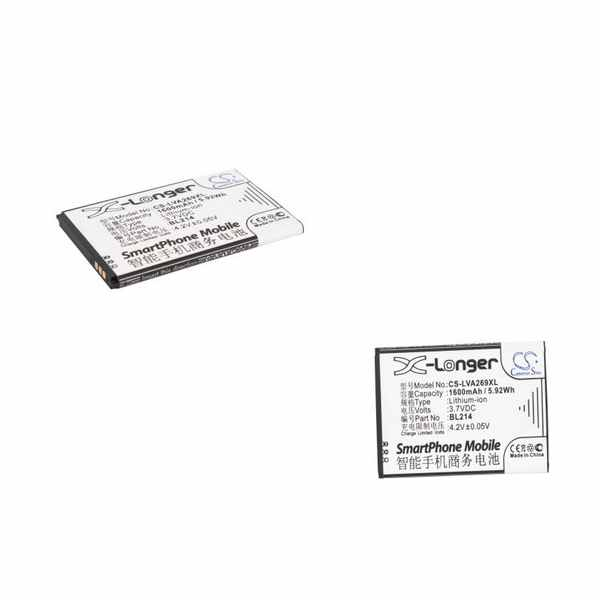 Replacement Battery Batteries For LENOVO A208t CS LVA269XL