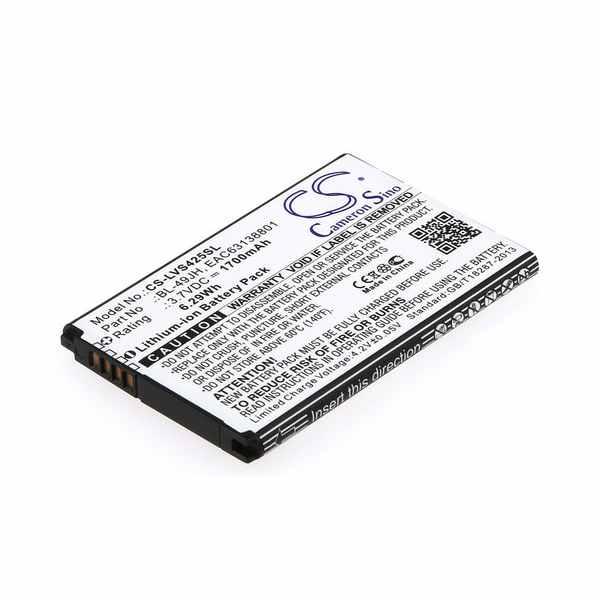 Replacement Battery Batteries For LG K130 CS LVS425SL