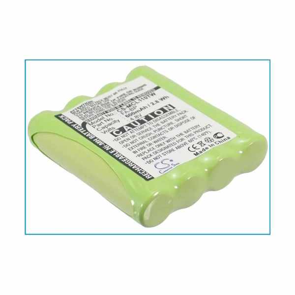 Replacement Battery For Oricom LH060-3A44C4BT PMR1000