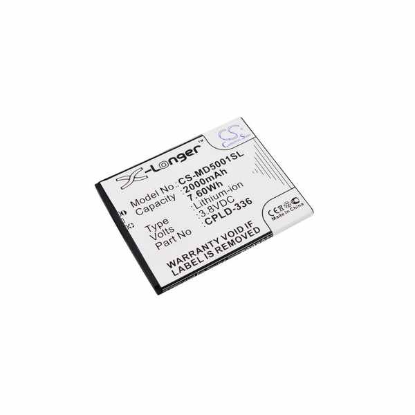 Replacement Battery Batteries For MEDION CPLD 336 CS MD5001SL