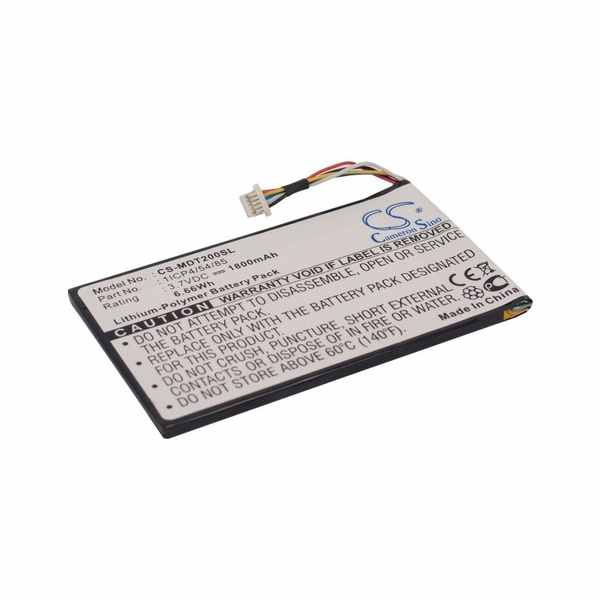 Replacement Battery Batteries For IEI MOBILE 1ICP4-54-85 CS MDT200SL