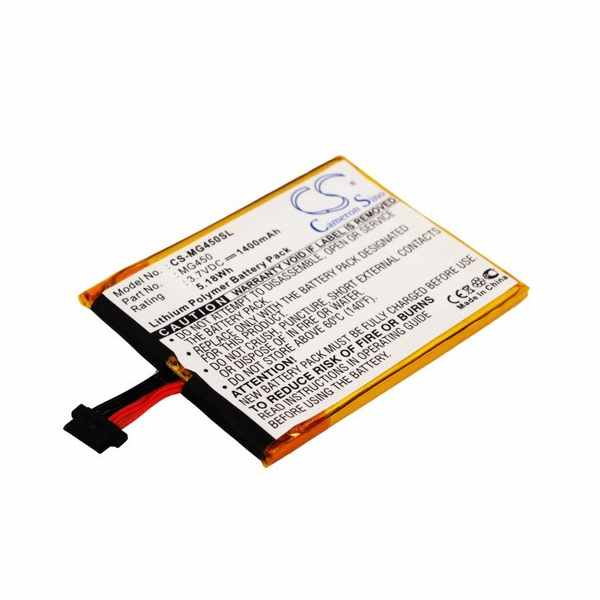 Replacement Battery Batteries For TYPHOON MyGuide 4500SD CS MG450SL